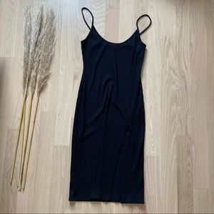 Urban Outfitters | Ribbed Midi Tank Dress
